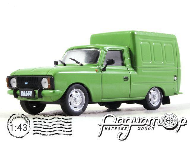 Автолегенды СССР и Соцстран №187, ИЖ-2715 (1972)