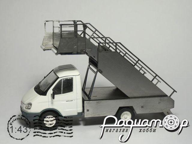 Сборная модель Автотрап ТПС-22-1 для ГАЗ-3302 MM2028