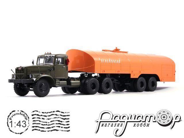 КрАЗ-258Б1 с полуприцепом-цистерной ТЗ-22 (1967) 101463
