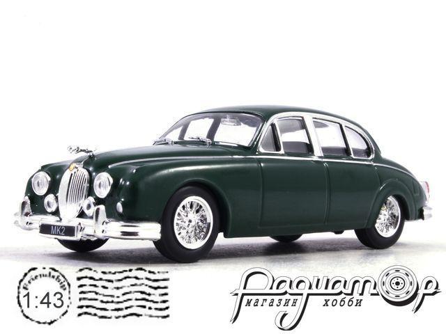 Автолегенды Мира №5, Jaguar Mk II (1960)