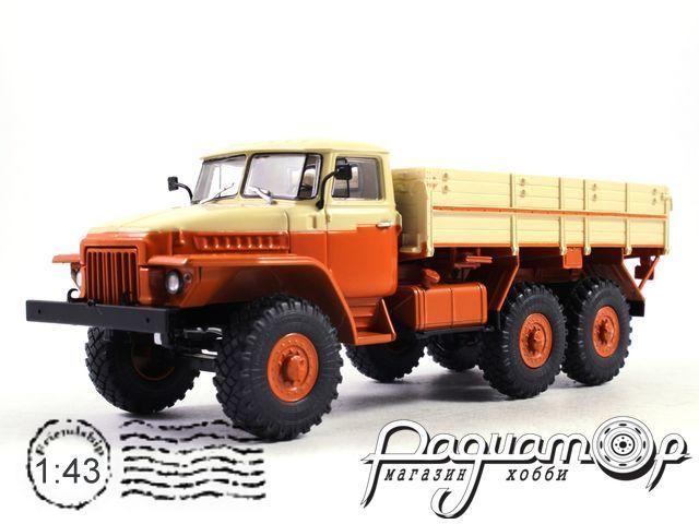 УРАЛ-377 бортовой, Автоэкспорт (1965) 100985