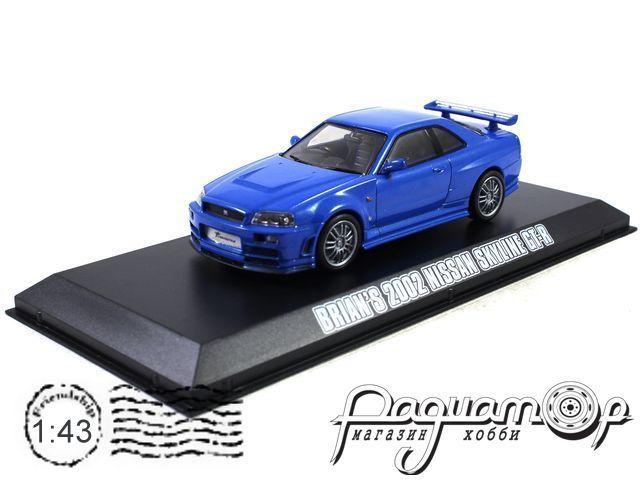 Nissan Skylline GT-R (R34) из к/ф