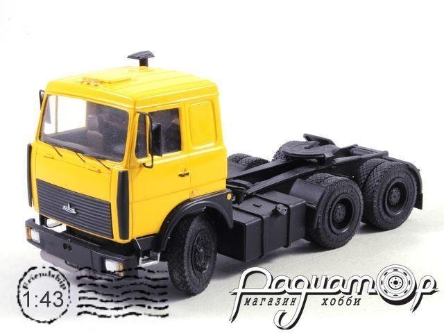 МАЗ-6422 с полуприцепом цистерной «Пропан» (1989) NIK045-003