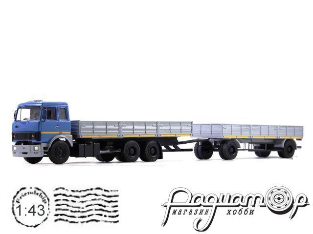 МАЗ-6303 с прицепом МАЗ-83781 (1986) NIK048-050