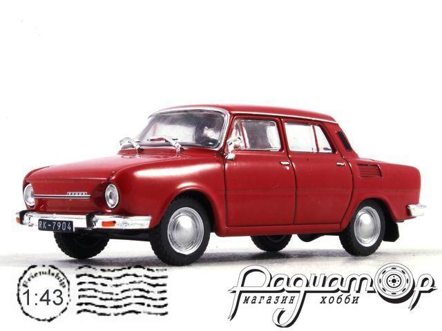 Автолегенды СССР и Соцстран №188, Skoda-100 (1969)