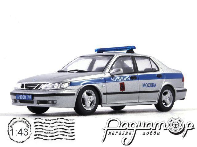 Полицейские машины мира №48, SAAB 9-5 Московская Милиция (1997)