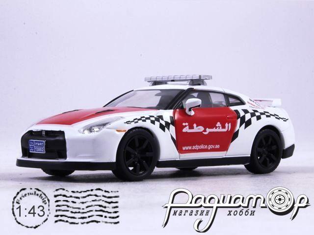 Полицейские машины мира №51, Nissan GT-R Полиция Абу-Даби, ОАЭ (2007)