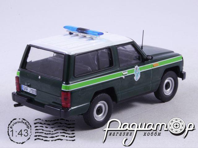 Полицейские машины мира №54, Nissan Patrol Национальная Гвардия Португалии (1985)
