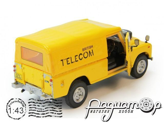 Land Rover Series III 109 British Telecom (1983) 251288-T