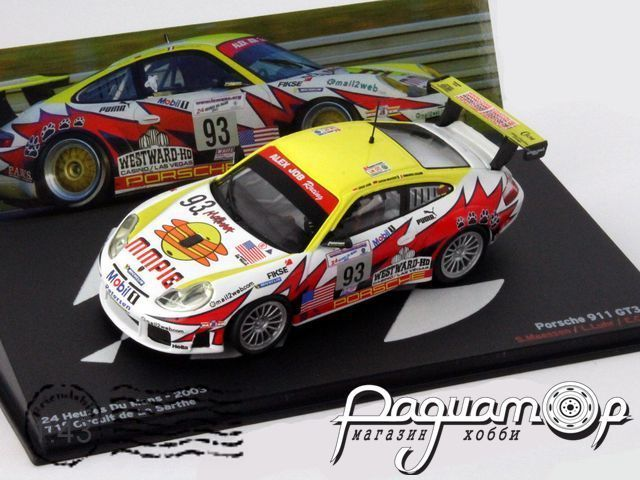 Porshe 911 GT3-RS №93 24h Le Mans Alex Job Racing (2003) (L)