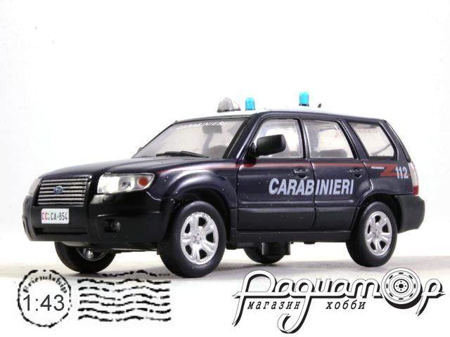 Полицейские машины мира. Спецвыпуск №3, Subaru Forester Итальянские Карабинеры (2007)