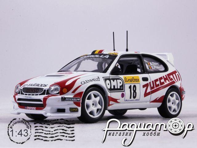 Toyota Corolla WRC Rally Montecarlo, B.Thiry - S.Prevot (2000)-I