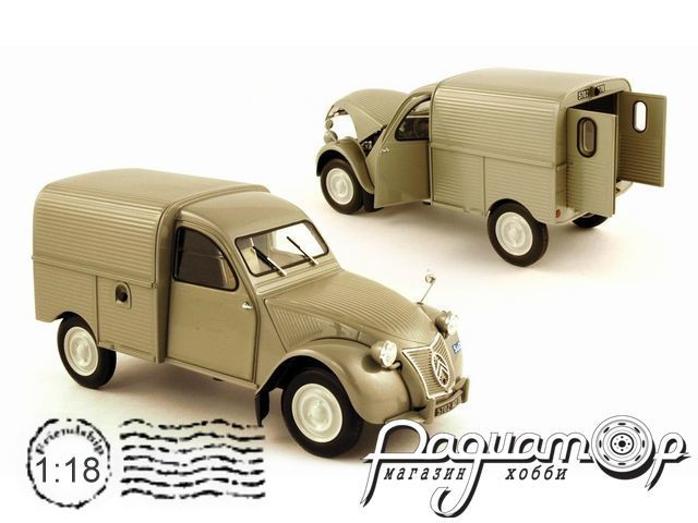 Citroen 2CVC Light Van (1952) 181510 (MM)