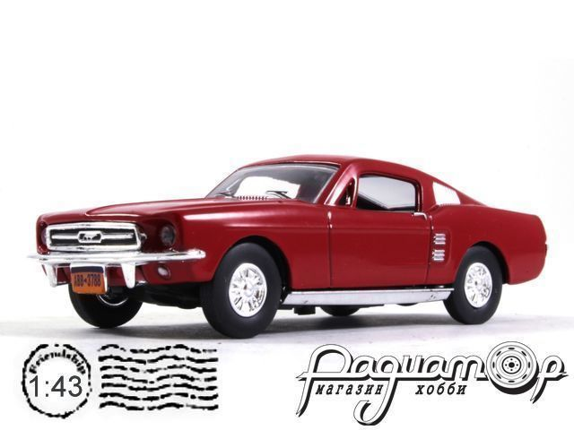 Ford Mustang (1967) LA27 (MM)