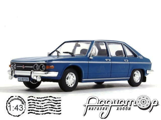 Автолегенды СССР и Соцстран №160, Tatra 613 (1958) синий