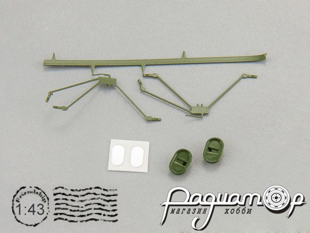 Набор зеркал (т.зеленый) для моделей ГАЗ-52 (арт. 105202) 500502