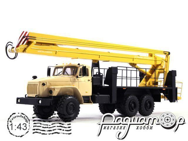 Урал-4320 ВС-28У Автовышка (1990) NIK087-Y