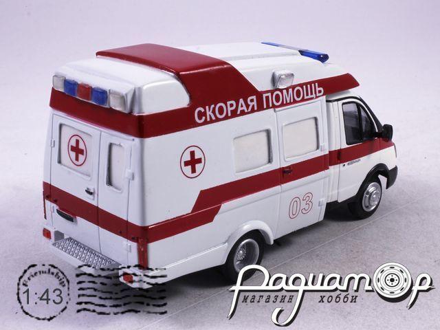 ГАЗ-3302 Profile OY Скорая Медицинская Помощь (2000) NIK088-W