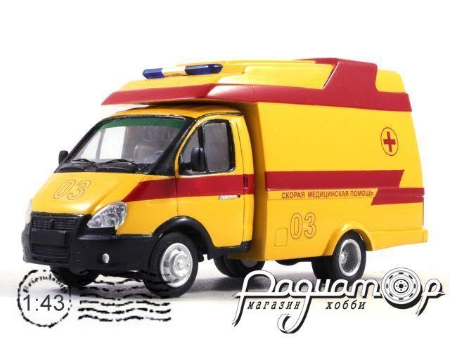 ГАЗ-3302 Profile OY Скорая Медицинская Помощь (2000) NIK088-Y