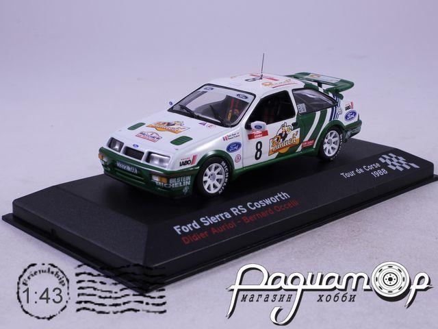 Ford Sierra RS Cosworth №8 Didier Auriol-Bernard Occeli, Tour de Course (1988) AR02