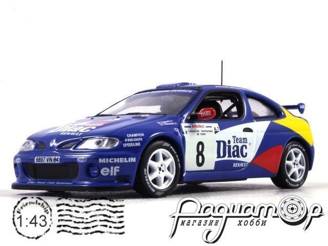 Renault Megane Maxi №8 Jean Ragnotti-Gilles Thimonier, Tour de Course (1996) AR03