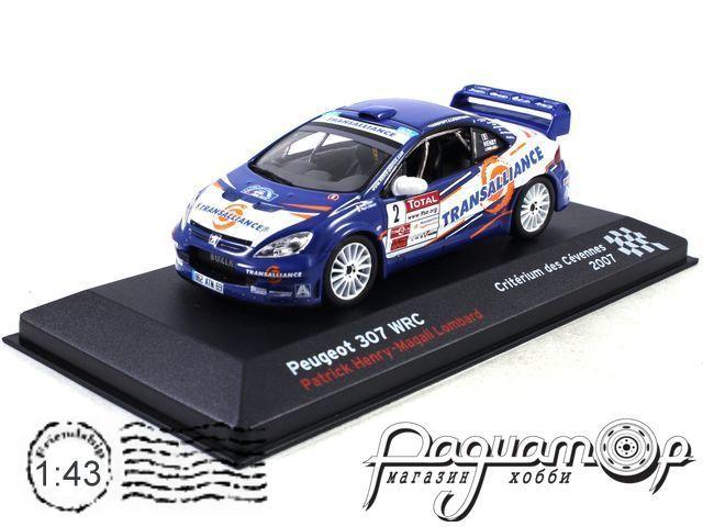 Peugeot 307 WRC №2 Patrick Henry-Magali Lombard, Criterium des Cevennes (2007) AR06