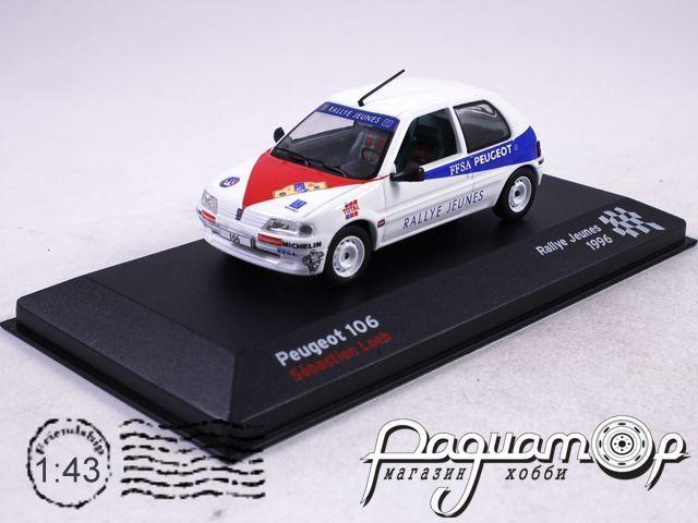 Peugeot 106 Loeb Sebastien, Rallye Jeunes (1996) AR11