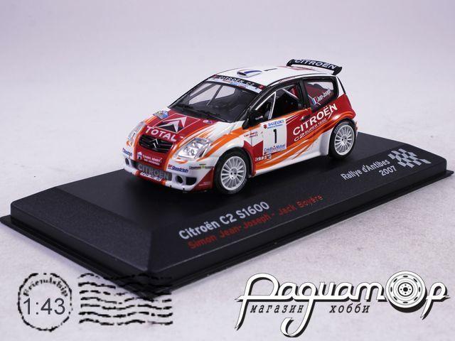 Citroen C2 Super 1600 №1 Simon Jean-Joseph-Jack Boyere, Rallye dAntibes (2007) AR15