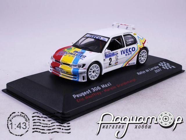 Peugeot 306 Maxi №2 Mauffrey Eric, Rallye de Lorraine (2007)AR21
