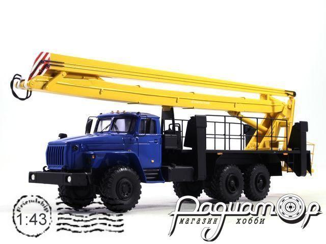Урал-4320 ВС-28У Автовышка (1990) NIK087-B