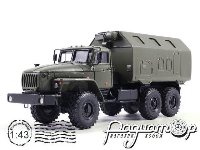 Урал-4320 кунг LAK (1977) KM1031