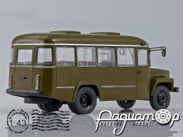 КАвЗ-3976 Армейский (1990) SSM4027