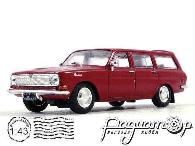 Автолегенды СССР Лучшее №13, ГАЗ-24-02 «Волга» (1972)