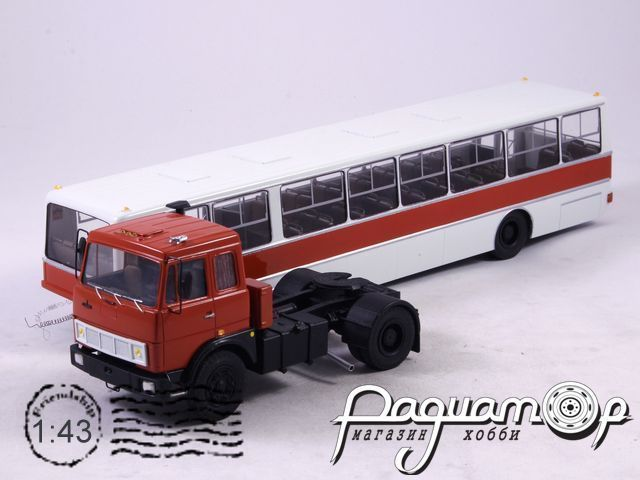 МАЗ-5432 c полуприцепом ППМ Ikarus (1986) NIK097