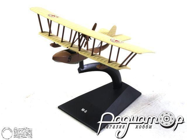 Легендарные самолеты №94, М-5 (1915) 1:110