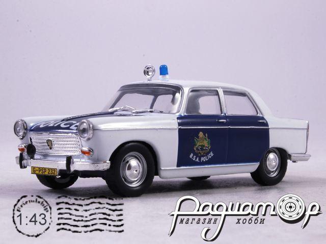Полицейские Машины Мира №47, Peugeot 404 Британская Полиция Южной Африки (1965)