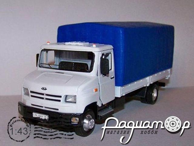 ЗИЛ-5301 «Бычок» с тентом (1996)