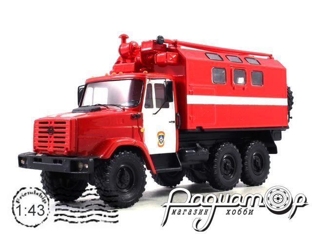 ЗиЛ-4333 кунг МТО-АТ пожарный (1986) конверсия