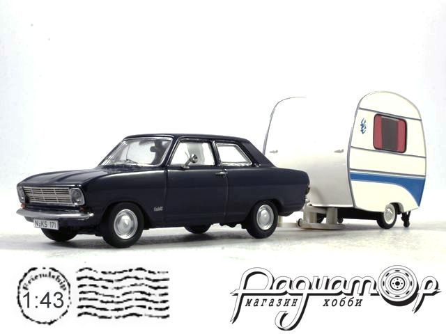 Opel Kadett B with camping trailer (1970) 450294700