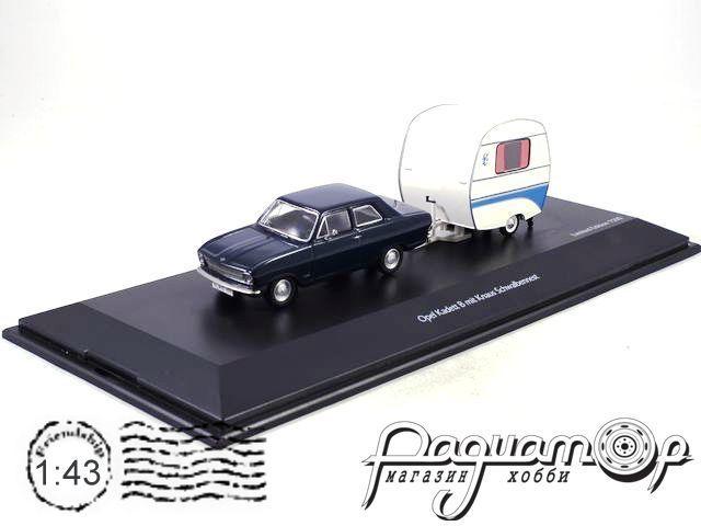 Opel Kadett B with camping trailer (1970) 450294700