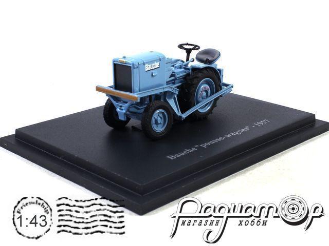 Трактор Bauche pousse Wagons (1957) UH002