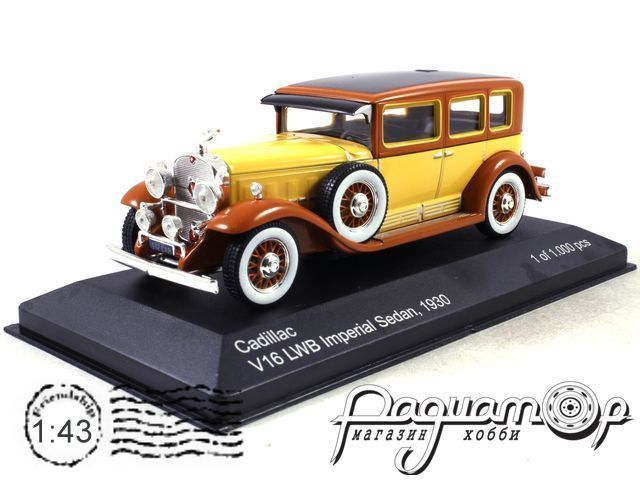 Cadillac V16 LWB Imperial Sedan (1930) WB182