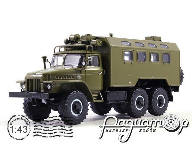 Кунг К-375 (на шасси УРАЛ-375) (1965) SSM1277