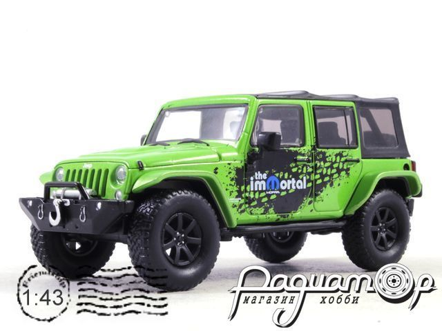 Jeep Wrangler 4x4 Unlimited MOPAR Edition The Immortal Tribute 5-дв. (Soft Top) (2014) 86077