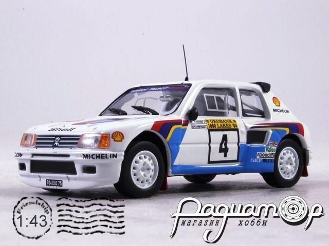 Peugeot 205 T16  A.Vatanen T.Harryman 1000 Lakes Rally (1984) AR44