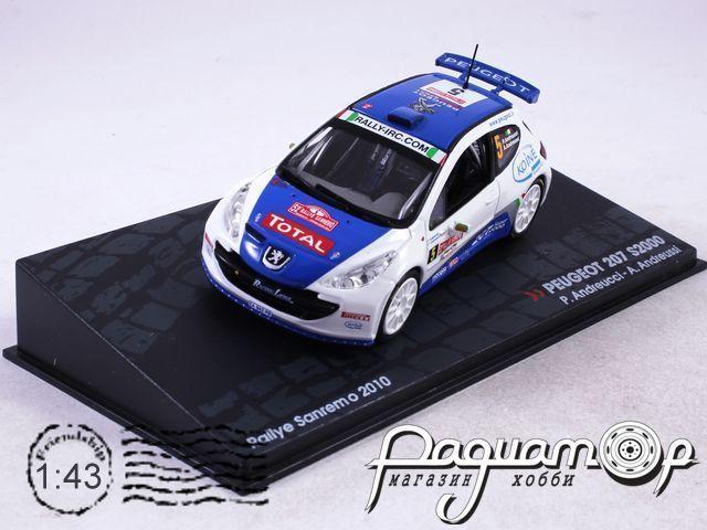 Peugeot 207 S2000 P.Andreucci A.Andreussi Rally Sanremo (2010) AR45