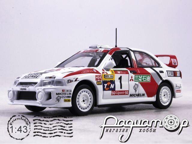 Mitsubishi Lancer RS Evo IV T.Makinen S.Harjanne Rally Argentina (1997) AR46