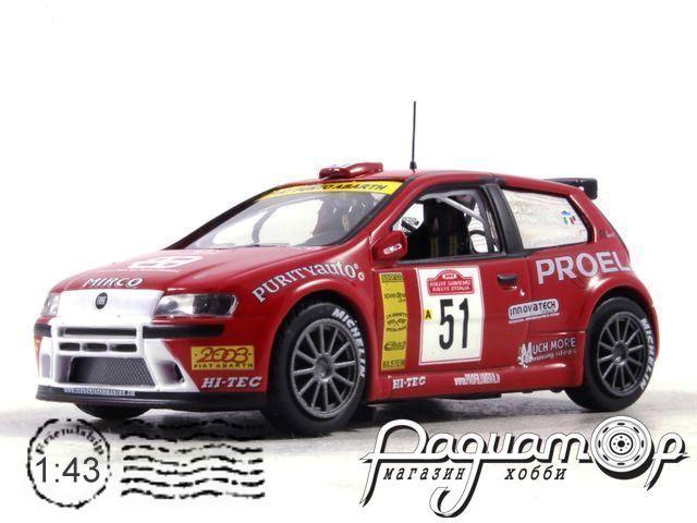 Fiat Punto S1600 M.Baldacci G.Bernacchini Rally Sanremo (2003) AR49
