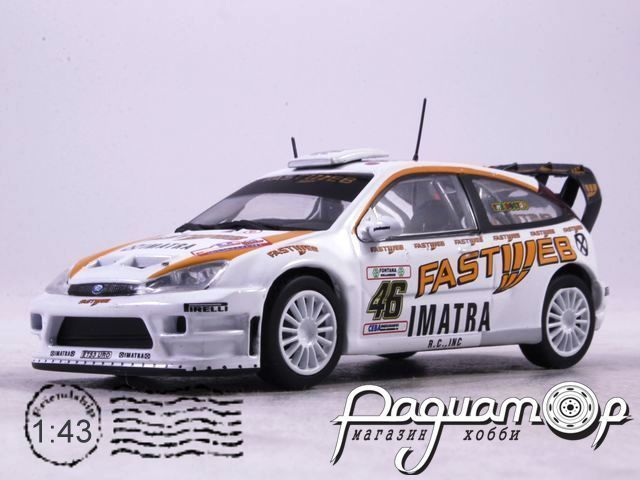Ford Focus RS WRC V.Rossi C.Cassina Monza Rally Show (2006) AR52