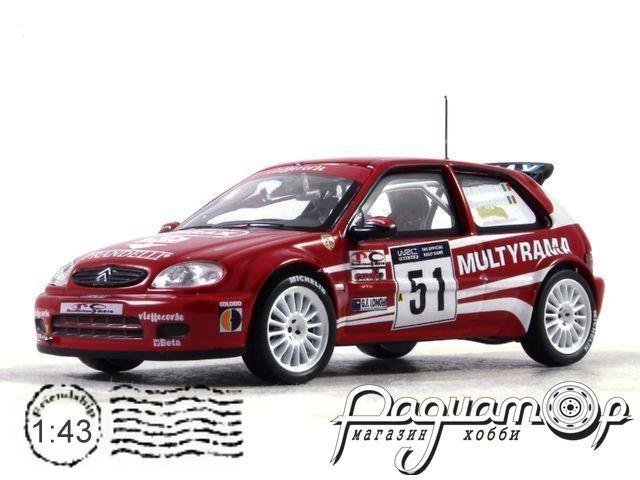 Citroen Saxo S1600 A.Dallavilla G.Bernacchini Rally Sanremo (2002) AR58